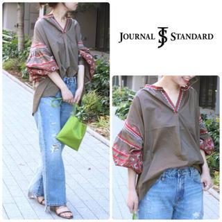 JOURNAL STANDARD - 【JOURNAL STANDARD】 刺繍パフスリーブ ブラウス 美品