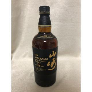 サントリー(サントリー)の山崎18年【開封済】値引不可(ウイスキー)