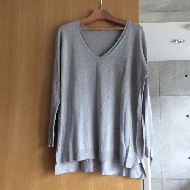 無印良品:ウールシルク洗えるクルーネックセーター