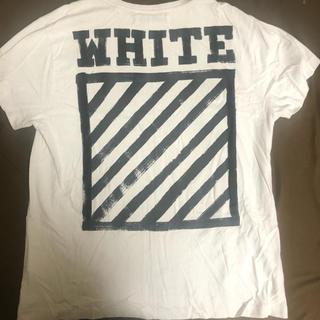OFF-WHITE - off-white Tシャツ Mサイズ オフホワイト 確実正規