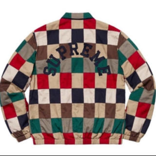 Supreme - Supreme patchwork Harrington jacket