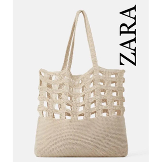 ZARA - ZARAトートバッグ  メッシュバッグ