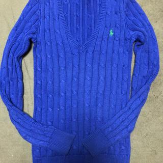 ラルフローレン(Ralph Lauren)のラルフローレン  ケーブル コットンニットセーター(ニット/セーター)
