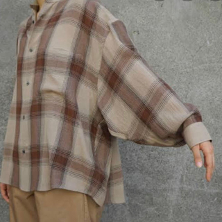 graphpaper 19aw check shirts unisex F