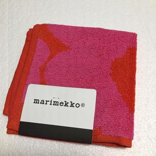 マリメッコ(marimekko)の⭐️専用です⭐️新品⭐️マリメッコ タオルハンカチ(ハンカチ)