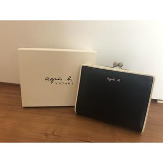 agnes b. - アニエスベー ミニ財布 がま口 箱付