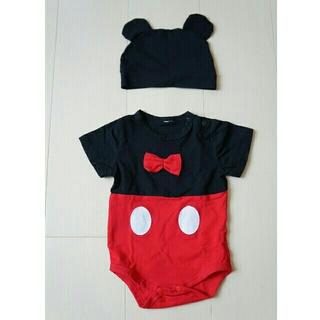 Disney - ロンパース ミッキー 50~60