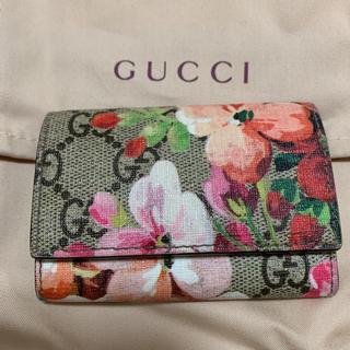 Gucci - GUCCI ブルームス 6連キーケース