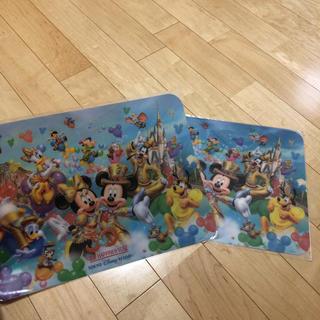 Disney - ディズニー 30周年 乱調マット 2枚