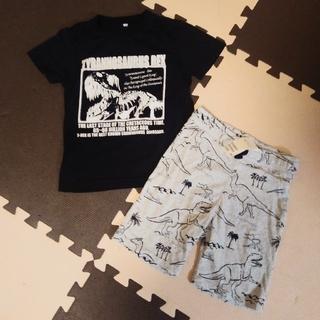 H&M - H&M 恐竜 Tシャツ&ハーフパンツ 120 新品あり