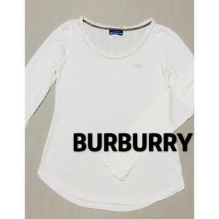 バーバリー(BURBERRY)のバーバリー BURBURRY 長袖 ロンT 美品(Tシャツ(長袖/七分))