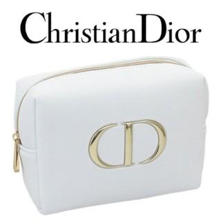 Dior - 【Dior】ディオール CD ビッグロゴ ノベルティ コスメポーチ (外箱なし)