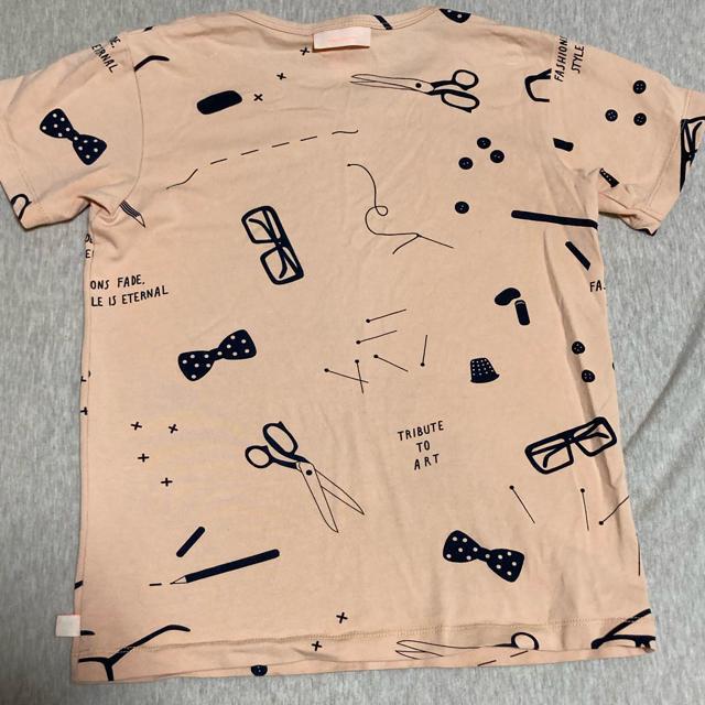 こどもビームス(コドモビームス)のtiny cottonタイニーコットン Tシャツ 6y キッズ/ベビー/マタニティのキッズ服女の子用(90cm~)(Tシャツ/カットソー)の商品写真