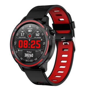 L8 スマートウォッチ IP68 防水スマートウォッチ  血圧心拍数 腕時計(腕時計(デジタル))