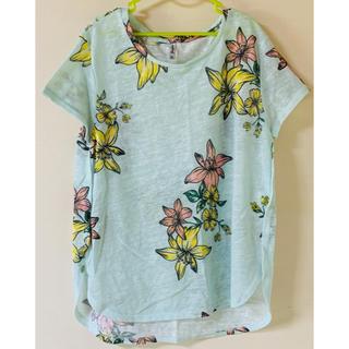 ZARA - ストラスヴァリウス きれい色 Tシャツ
