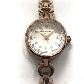 ジルスチュアート(JILLSTUART)のジルスチュアート 腕時計 VC01-0150 白(腕時計)