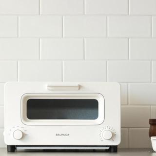 バルミューダ(BALMUDA)の新品未開封♡バリュミューダ♡トースター♡ホワイト(調理機器)