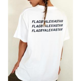 ALEXIA STAM - Flag by ALEXIASTAM Tシャツ ホワイト