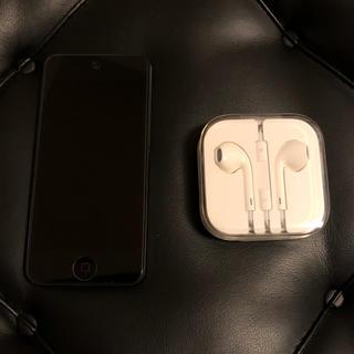アイポッドタッチ(iPod touch)のiPod touch (第6世代) スペースグレイ 16GBモデル(ポータブルプレーヤー)