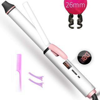 ☆大人気商品☆REAKヘアアイロン26mm プロ仕様 海外対応 17段階温度調節(ヘアアイロン)