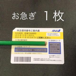 ANA(全日本空輸) - ANA 株主優待券 1枚