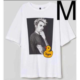 エイチアンドエム(H&M)のジャスティンビーバー H&M 公式コラボ(Tシャツ(半袖/袖なし))