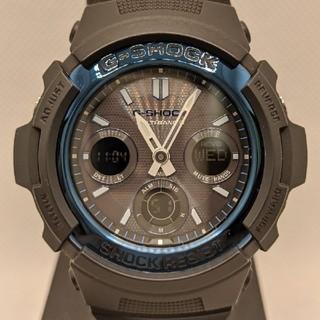 ジーショック(G-SHOCK)のG-SHOCK AWG-M100-1AER 電波ソーラー(腕時計(デジタル))