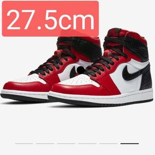 NIKE - Air Jordan 1 High OG Satin Red 27.5cm