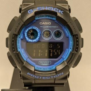 ジーショック(G-SHOCK)のG-SHOCK GD-120N-1B2JF ブラック&ブルー(腕時計(デジタル))