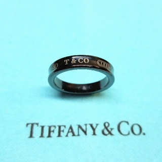 Tiffany & Co. - 【TIFFANY&Co.】1837 ナローリング チタン 4mm(送料無料)