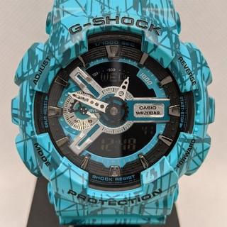 ジーショック(G-SHOCK)のG-SHOCK GA-110SL-3AJF グリーン(腕時計(デジタル))