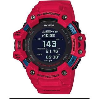 新品 タグ付き New G-SQUAD 赤 GBD-H1000-4JR  (腕時計(デジタル))