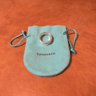 Tiffany & Co. - ティファニー 1837 ナロー リング ワイド 指輪 12号