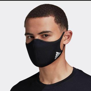 adidas - アディダスフェイスカバーブラック大人用1枚