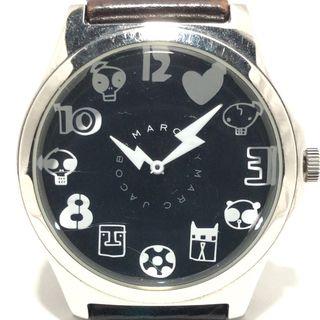マークバイマークジェイコブス(MARC BY MARC JACOBS)のマークジェイコブス 腕時計 MBM5021 黒(腕時計)