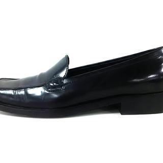 プラダ(PRADA)のプラダ ローファー 35 1/2 レディース 黒(ローファー/革靴)