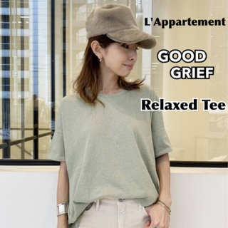 L'Appartement DEUXIEME CLASSE - 【GOOD GRIEF/グッドグリーフ】Relaxed Tee カーキ