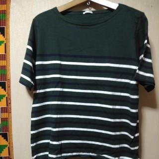ジーユー(GU)のレディース大きいサイズGUのtシャツ3L(Tシャツ(半袖/袖なし))