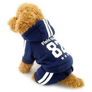 ブルーLLRanphy トイプードル/シャツ 犬の冬のコート 犬用服 犬の冬服 (犬)