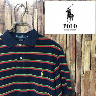 ポロラルフローレン(POLO RALPH LAUREN)の《ポロバイラルフローレン》メンズ ポロシャツ M (ポロシャツ)