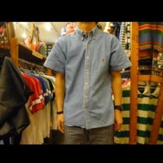 ラルフローレン(Ralph Lauren)のRALPH LAURENデニム半袖シャツ定番お洒落(シャツ)