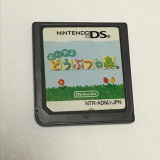 ニンテンドーDS(ニンテンドーDS)のおいでよどうぶつの森 DSソフト(携帯用ゲームソフト)