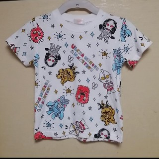 BANDAI - 【新品】110 ウルトラマン かわいいイラストTシャツ