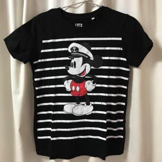 ユニクロ(UNIQLO)のUNIQLO ミッキー tシャツ(Tシャツ(半袖/袖なし))