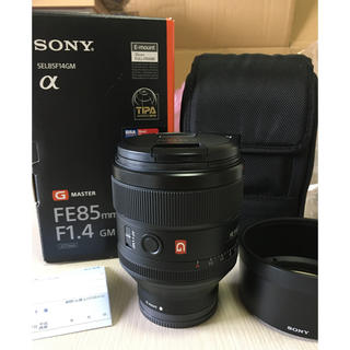 SONY - SONY FE 85mm F1.4 GM SEL85F14GM