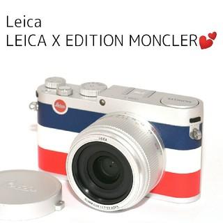 ライカ(LEICA)の❤Leica❤美品❤限定品❤LEICA X EDITION MONCLER(コンパクトデジタルカメラ)