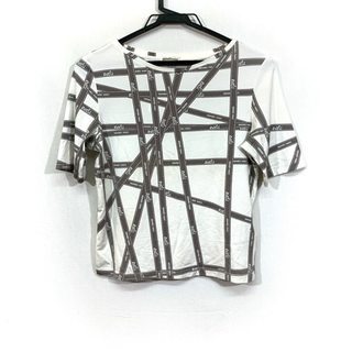 エルメス(Hermes)のHERMES(エルメス) 半袖Tシャツ サイズSM  -(Tシャツ(半袖/袖なし))