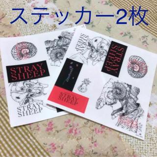 米津玄師 STRAYSHEEP ステッカー 2枚セット(ミュージシャン)