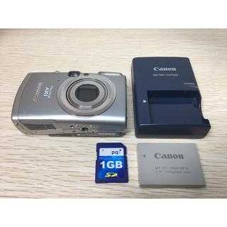 キヤノン(Canon)のキヤノン Canon IXY 800IS デジカメ SDカード付(コンパクトデジタルカメラ)