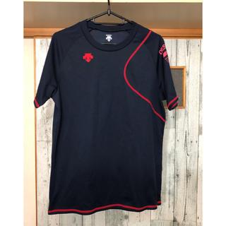 DESCENTE - デサント ネイビー 半袖Tシャツ
